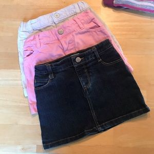 5/$25 Bundle of Skirts Little Girl Size 3 Old Navy